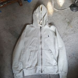 Polo by Ralph Lauren hooded zip up sweater